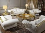Kursi Meja Tamu Classic Sofa Ruang Tamu Ukiran