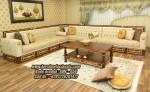 Kursi Sudut Classic Jati Model Sofa Ukir Terbaru