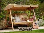 Kursi Ayunan Kayu Jati Model Kursi Garden Minimalis