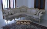 Kursi Sudut Classic Terbaru Model Sofa Ukir Jepara