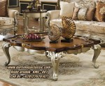 Meja Coffee Classic Terbaru Model Coffee Table Rectangle