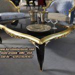 Meja Coffee Classic Ukir Model Meja Sofa Terbaru