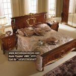Tempat Tidur Classic Jati Model Dipan Ukir Jepara