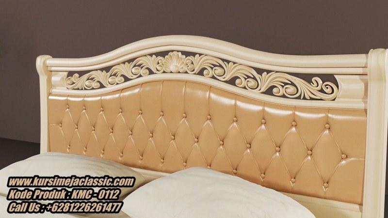 Desain Tempat Tidur Classic Modern