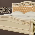 Tempat Tidur Classic Modern Model Dipan Ukir Terbaru