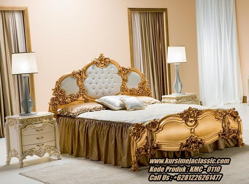 Harga Tempat Tidur Classic Ukir