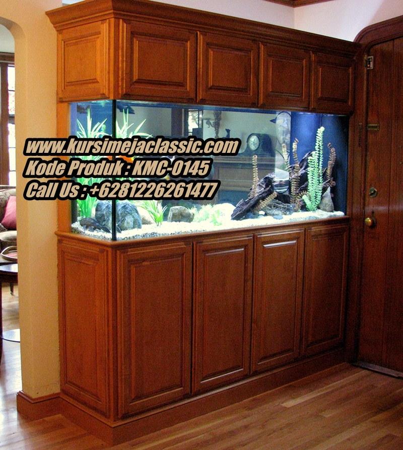 Harga Meja Aquarium Classic Jati