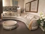 Kursi Sudut Classic Jepara Model Sofa Leter L Mewah