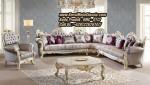 Kursi Sudut Classic Mewah Model Sofa Tamu Terbaru