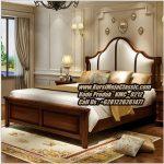 Tempat Tidur Klasik Jati Model Tempat Tidur Modern