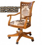 Kursi Kantor Classic Minimalis Kursi Kantor Kayu Jati