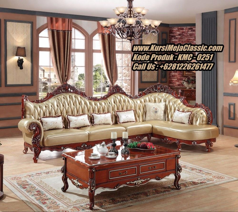 Jual Kursi Sofa Sudut Klasik