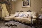 Kursi Sudut Klasik Sofa Sudut Jati Ukir