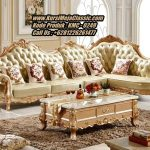 Kursi Sudut Klasik Modern Sofa Leter L Ukiran