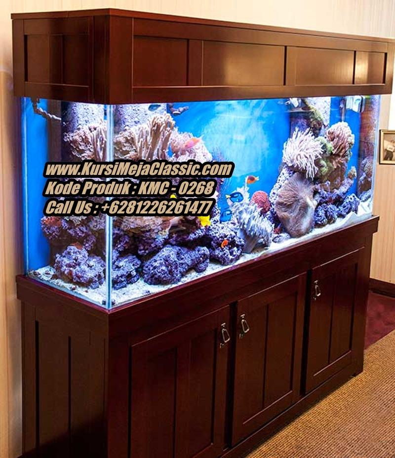 Harga Meja Aquarium Minimalis Jati