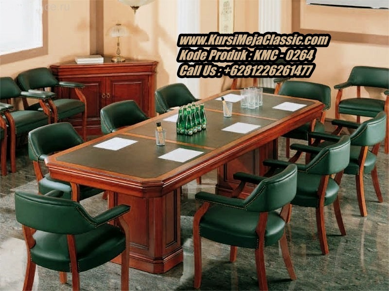 Harga Meja Meeting Classic Terbaru