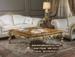 Meja Coffee Classic Ukiran Model Coffee Table Mewah