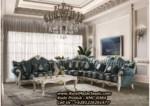 Kursi Sudut Klasik Mewah Sofa Tamu Leter L Ukiran