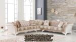 Kursi Sudut Klasik Terbaru Sofa Tamu Leter L Mewah