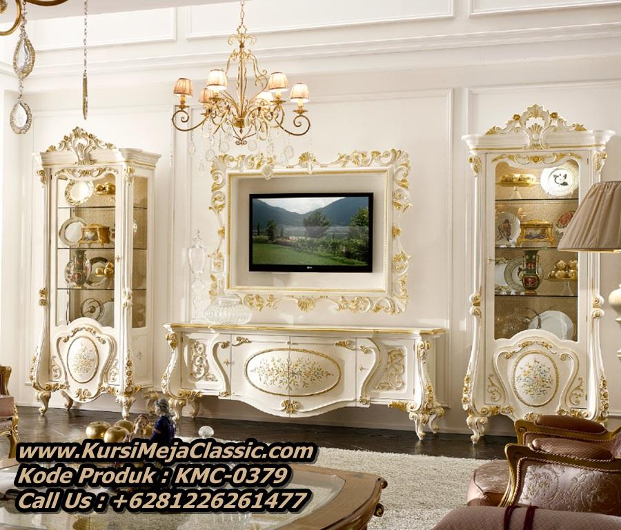 Harga Lemari Tv Klasik Mewah