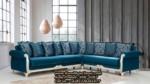 Model Kursi Sudut Klasik Desain Sofa Tamu Mewah