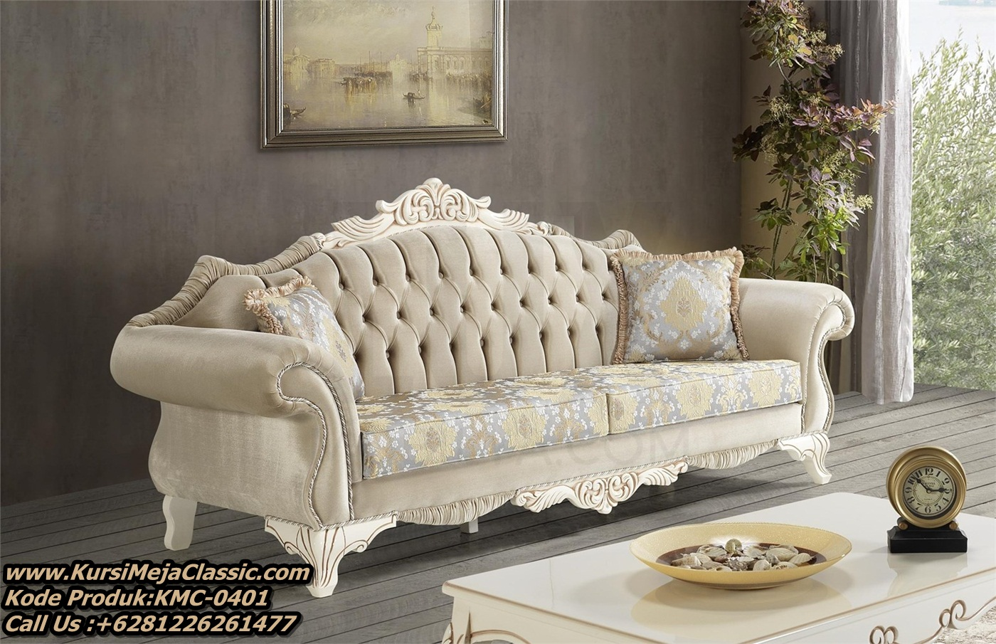 Jual Sofa Tamu Classic Mewah