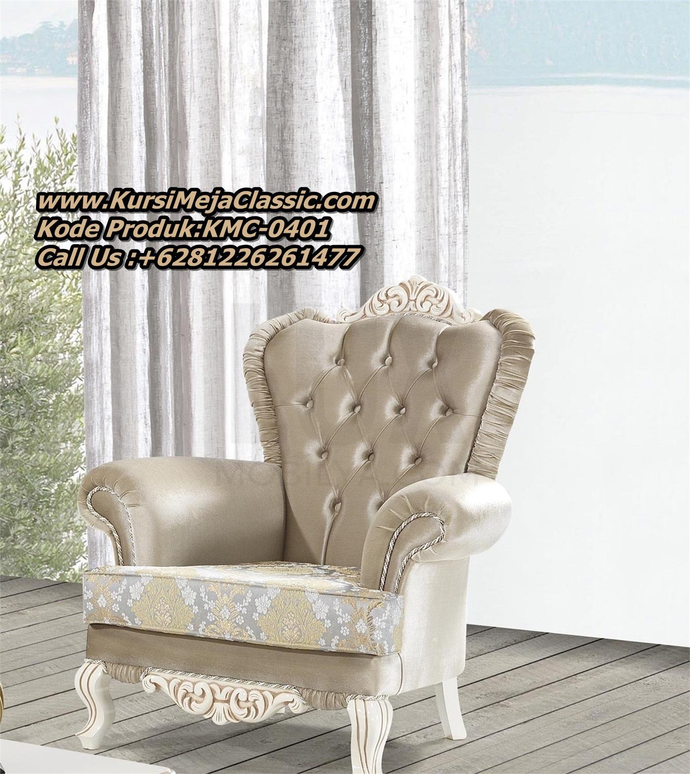Set Sofa Tamu Classic Mewah