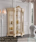 Model Lemari Hias Classic Living Room Mewah