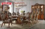 Jual Meja Makan Jati Classic Luxury Dining Room New Design