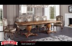 Meja Makan Kayu Jati Luxury Dining Room Set New