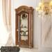 New Design Lemari Hias Klasik Lemari Pajangan Jati Living Room