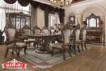 New Design Meja Makan Jati Classic Luxury Dining Room