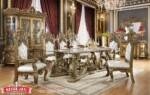 Set Meja Makan Klasik Desain Meja Makan Mewah Dining Room