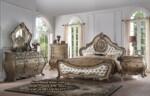 Set Tempat Tidur Mewah Antik Desain Set Kamar Klasik Terbaru
