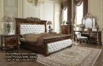 Set Tempat Tidur Mewah Jati Design Kamar Set Klasik