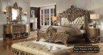 Set Tempat Tidur Mewah Jepara Classic Bedroom Antique