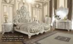 Set Tempat Tidur Mewah Ukir Luxury Kamar Set Barok Romawi