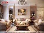 Kursi Sofa Klasik Ruang Keluarga Model Terbaru Sofa Tamu