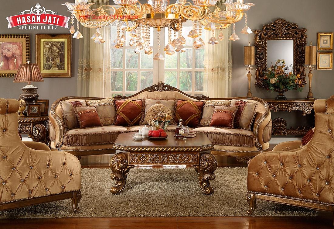 Kursi Sofa Klasik Terbaru, Jual Kursi Sofa Tamu Klasik Mewah, Model Terbaru Kursi Sofa Ruang Keluarga Klasik jati, Harga Set Kursi Sofa Ruang Tamu Mewah Ukiran, Desain Terbaru Kursi Sofa Minimalis