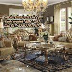 Kursi Tamu Classic Terbaru Untuk Ruang Tamu Anda