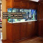 Meja Aquarium Classic Jati Model Aquarium Ikan Arwana