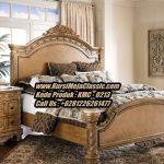 Tempat Tidur Klasik Mewah Tempat Tidur Jati Ukir